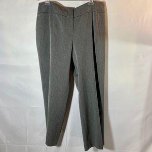 Kasper Gray Plus Career Pant Dressy Trousers